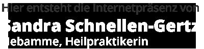 Hebamme Sandra Schnellen-Gertz